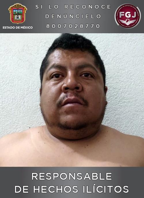 Juez dictó condena de 53 años y cuatro meses de prisión en contra de Chrystian 'N' por el homicidio de un policía **FOTO FGJEM**