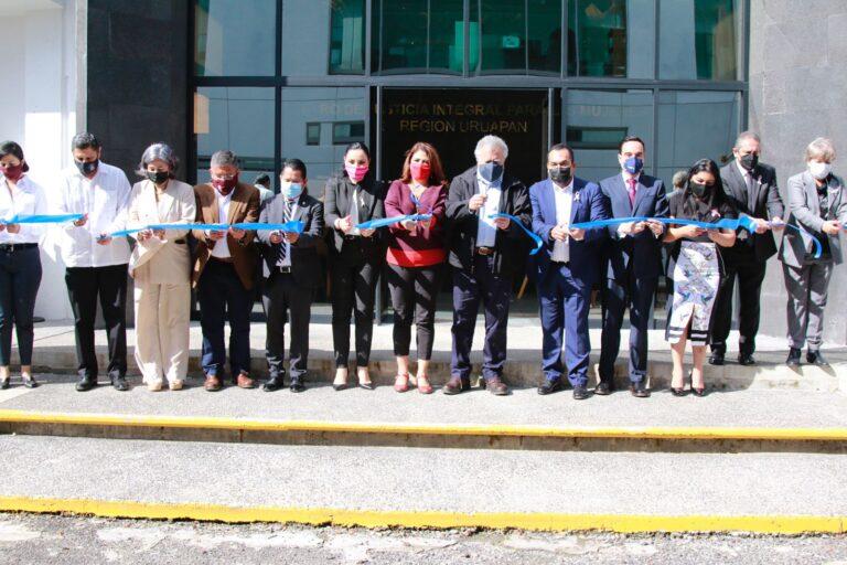 """SEGOB inauguró el """"Centro de Justicia Integral para las Mujeres"""" en Uruapan, Michoacán **FOTOS SEGOB****"""
