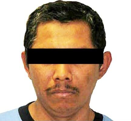 Juez sentenció a 38 años de prisión a Bernardo 'N' ex integrante de 'La Familia Michoacana' ***FOTO FGR***