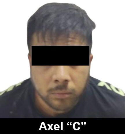 Axel 'N' fue vinculado a proceso por el delito de secuestro agravado y portación de armas de uso exclusivo ***FOTO FGR***