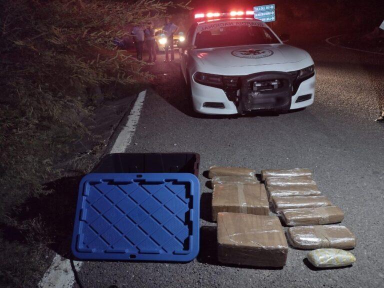 Guardia Nacional localizó más de 34 kg de marihuana abandonada en la carretera Cuernavaca-Chilpancingo ***FOTOS GN***+