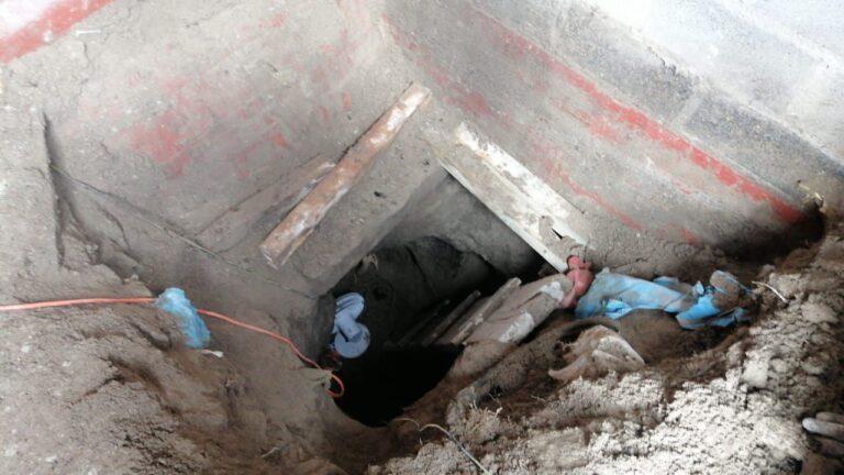 FGJEM y SEDENA localizaron túnel utilizado para la extracción de combustible en Acolman, Edomex *FOTOS & VIDEO FGJEM***