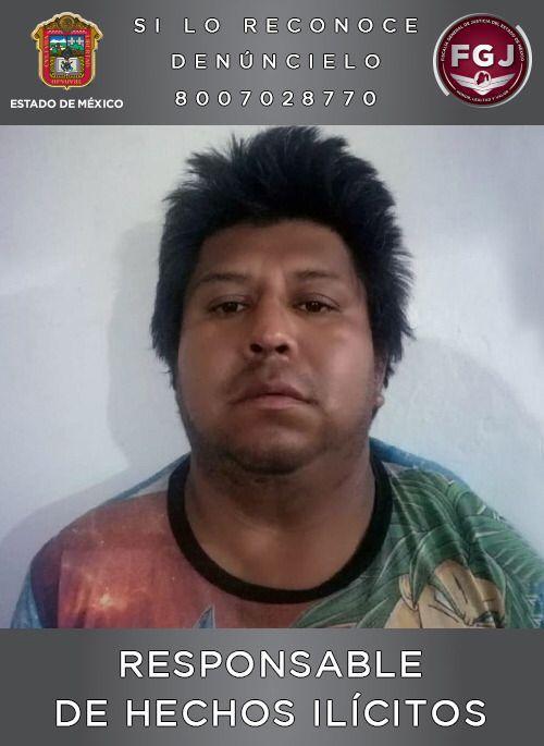 Juez sentenció a Adán 'N' a 47 años de prisión por el homicidio de una menor de 10 meses de edad ***FOTO FGJEM**