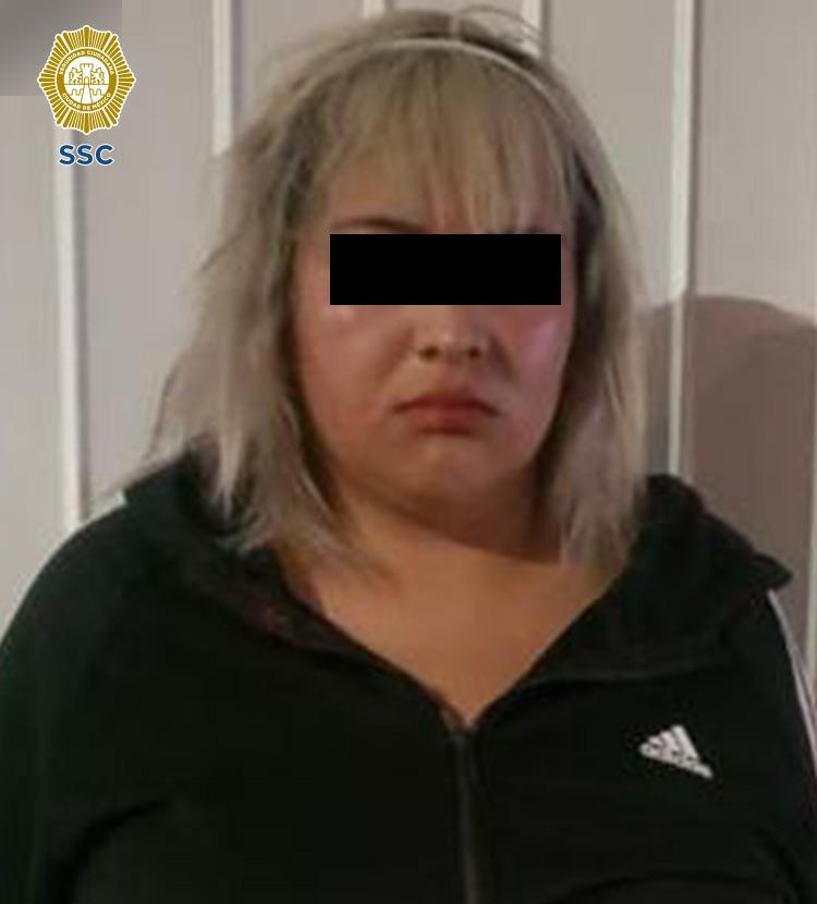 """SSC-CDMX detuvo a """"La Wendy"""" líder de la célula llamada """"Nueva Era"""" dedicada al narcomenudeo *FOTOS SSC-CDMX*"""