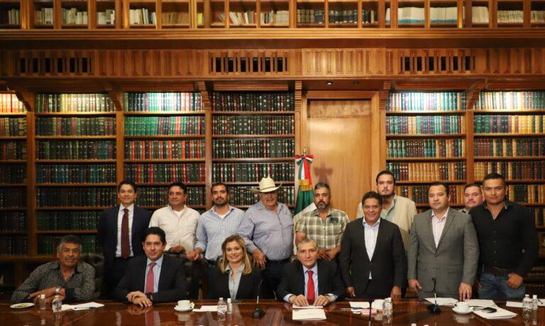 """SEGOB reconoce a productores de la Presa """"La Boquilla"""" de Chihuahua por su reclamo al derecho del agua **FOTOS & VIDEOS SEGOB***"""