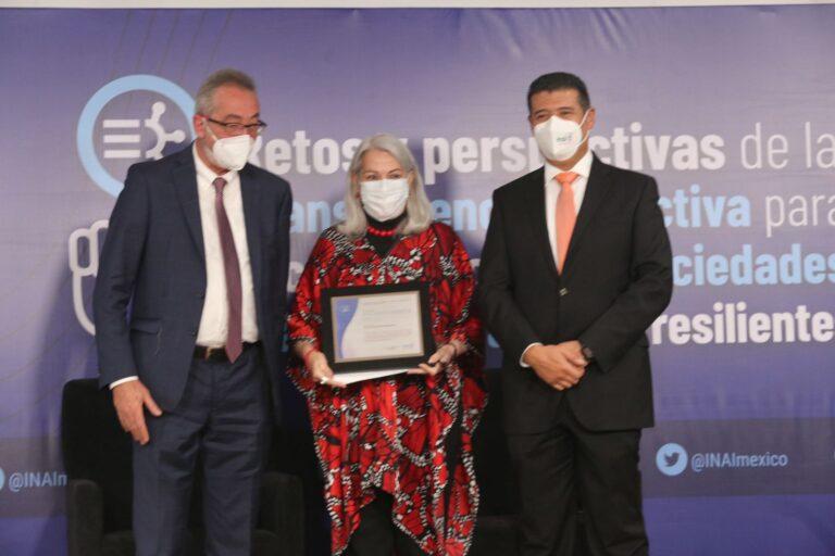 """Programa """"Héroes Paisanos"""" recibió el reconocimiento por transparencia: INM *FOTOS SEGOB / INM / INAI**"""