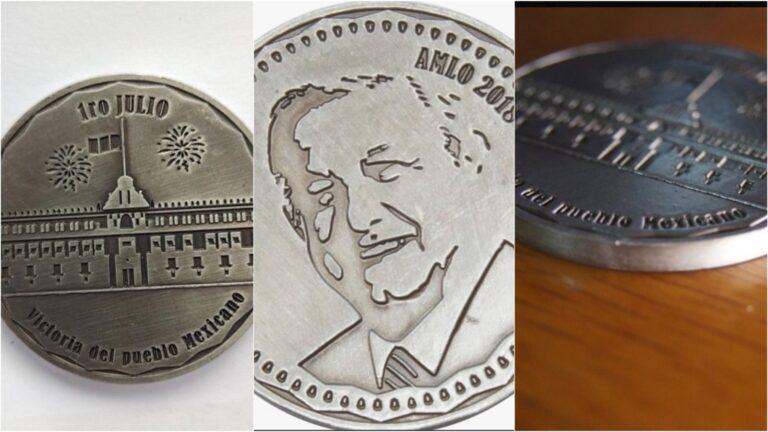 Venden monedas 4T Foto: CM