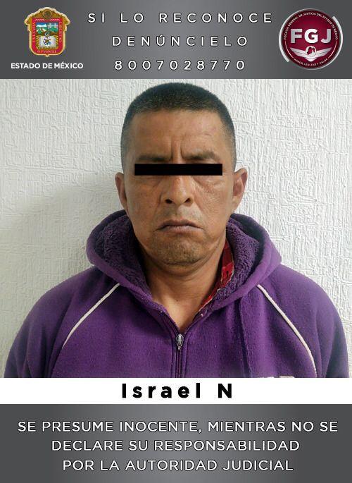 """FGJEM detuvo a Israel """"N"""" alias """"El Chimuelo"""", líder del CJNG y de una banda de secuestradores en el Edomex *FOTOS & VIDEO FGJEM**"""