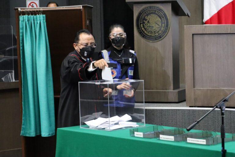 Pleno de Magistrado elige a Rafael Guerra Álvarez, para un segundo periodo en la presidencia del PJCDMX *FOTOS PJ-CDMX*