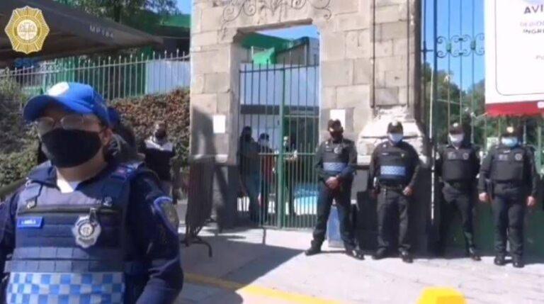 SSC-CDMX desplegará a 7 mil 400 policías para la celebración de Día de Muertos y romerías de la capital Fotos: SSCCDMX