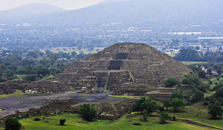 FGR detuvo probable responsable de daños a Zona Arqueológica de Teotihuacán